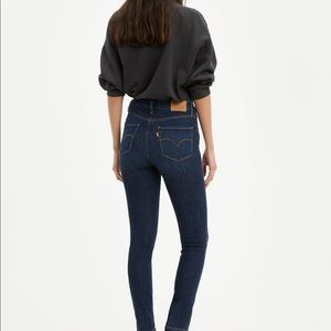 High-rise Levi's skinny Jeans